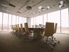 Empty meeting rooms around the UK!